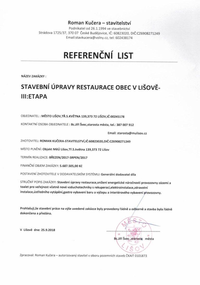 Reference Restaurace v Obci Lišov-page-001